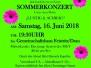2018 Sommerkonzert 16. Juni